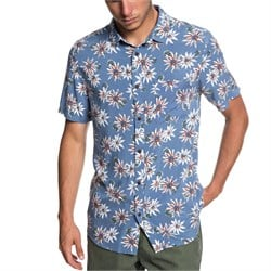 Quiksilver Fluid Geometric Short-Sleeve Shirt