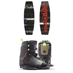 Never Summer Rooster Wakeboard ​+ Hyperlite Remix Wakeboard Bindings