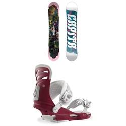 CAPiTA Paradise Snowboard - Women's + Union Rosa Snowboard Bindings - Women's 2019