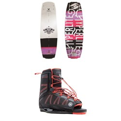 Hyperlite Maiden Wakeboard  ​+ Syn OT Bindings - Women's