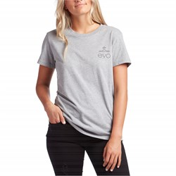 evo Square Light Logo T-Shirt - Women's