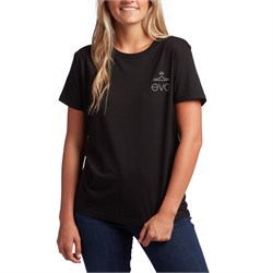 evo Square Light Logo T-Shirt - Women's