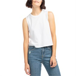 Richer Poorer Muscle Crop Tank Top - Women's