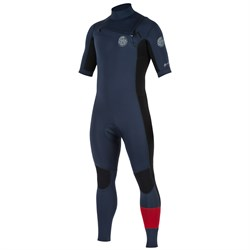 Rip Curl 2mm Aggrolite Short Sleeve Chest Zip Wetsuit