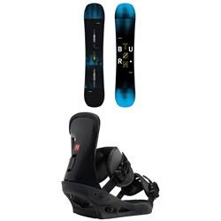 Burton Instigator Snowboard + Burton Freestyle Snowboard Bindings