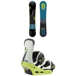 Burton Ripcord Snowboard + Burton Freestyle Snowboard Bindings 2019