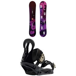 Burton Stylus Snowboard - Women's + Burton Citizen Snowboard Bindings - Women's