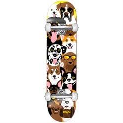 Enjoi Dog Collage Youth 7.375 Skateboard Complete - Kids'