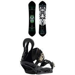 Rome Kashmir Snowboard - Women's 2018 ​+ Burton Citizen Snowboard Bindings - Women's