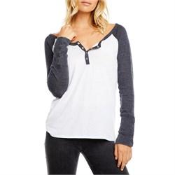 Chaser Snap-Cuff Henley Shirt - Women's
