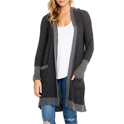 Chaser Cozy Knit Hooded Cardigan - Women's