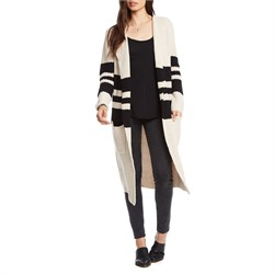 Chaser Striped Duster Sweater - Women's