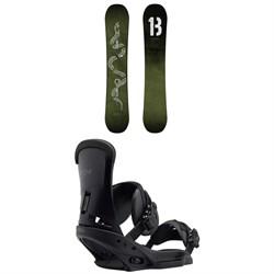 Burton Descendant Snowboard + Burton Custom EST Snowboard Bindings 2019