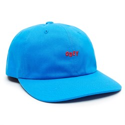Obey Clothing Cutty 6 Panel Snapback Hat