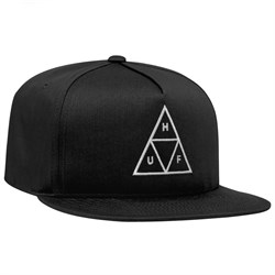 HUF Essentials Triple Triangle Snapback Hat