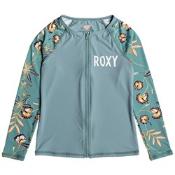 Roxy Born In Waves Long-Sleeve Rashguard - Girls'