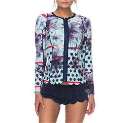 Roxy 1mm Pop Surf Front Zip Scallop Wetsuit Jacket - Women's
