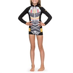 Roxy 1mm Pop Surf Long-Sleeve Front Zip Springsuit - Girls'