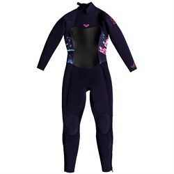 Roxy 4​/3 Syncro Back Zip GBS Wetsuit - Little Girls'