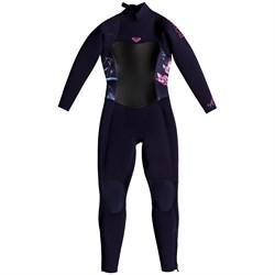 Roxy 3/2 Syncro Back Zip GBS Wetsuit - Little Girls'