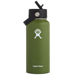 Hydro Flask 32oz Wide Mouth Flex Straw Lid Water Bottle