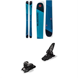 Blizzard Rustler 10 Skis + Marker Griffon 13 ID Ski Bindings 2019