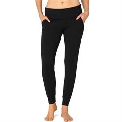 Beyond Yoga Cozy Fleece Foldover Sweatpants - Women's