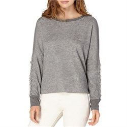 Beyond Yoga Lasso Tie Cropped Pullover - Women's