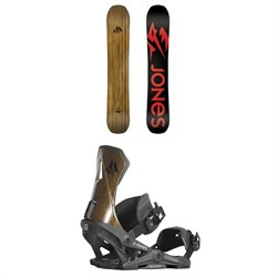 Jones Flagship Snowboard ​+ Jones Apollo Snowboard Bindings 2019
