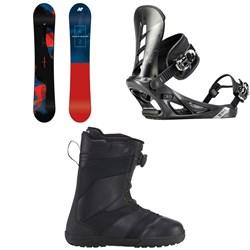 K2 Raygun Snowboard + K2 Sonic Snowboard Bindings + K2 Raider Snowboard Boots 2019