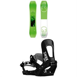 Bataleon Wallie Snowboard + Switchback Smith Snowboard Bindings 2019