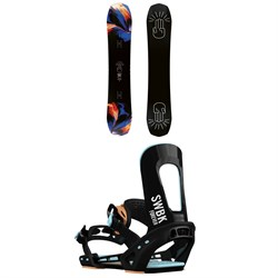Bataleon Distortia Snowboard ​+ Switchback Forever Snowboard Bindings - Women's