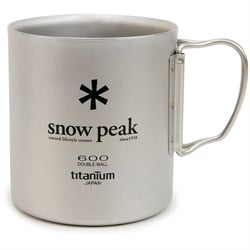 Snow Peak 600ml Titanium Single-Walled Cup