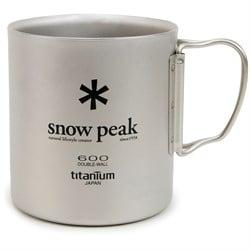 Snow Peak 600ml Titanium Single-Walled Cup