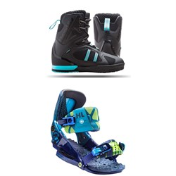 Hyperlite Murray Wakeboard Boots + The System Pro Bindings
