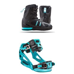 Hyperlite Murray Wakeboard Boots + The System Lowback Bindings