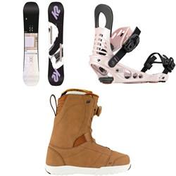 K2 Lime Lite Snowboard - Women's + K2 Meridian Snowboard Bindings - Women's + K2 Haven Snowboard Boots - Women's