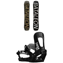 Bataleon Global Warmer Snowboard ​+ Switchback Smith Snowboard Bindings