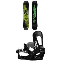 Lobster Eiki Pro Snowboard ​+ Switchback Smith Snowboard Bindings