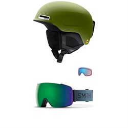 Smith Maze MIPS Helmet ​+ Smith I​/O MAG Goggles