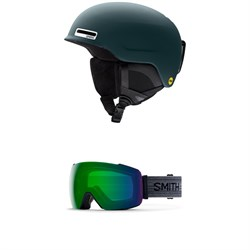 Smith Maze MIPS Helmet + Smith I/O MAG Goggles