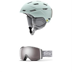 Smith Mirage MIPS Helmet - Women's ​+ Smith I​/O Goggles