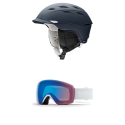Smith Valence Helmet - Women's ​+ Smith Skyline Goggles