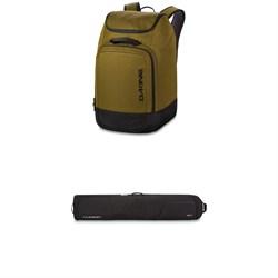 Dakine Boot Pack 50L + Dakine Low Roller Snowboard Bag