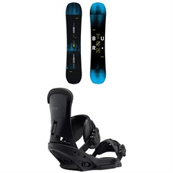 Burton Instigator Snowboard + Burton Custom EST Snowboard Bindings 2019
