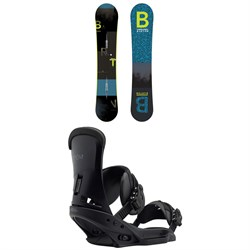 Burton Ripcord Snowboard + Burton Custom EST Snowboard Bindings 2019