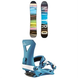 Nitro SMP Snowboard + Nitro Zero Snowboard Bindings 2019