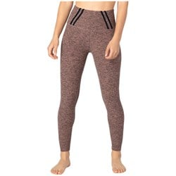 Beyond Yoga Stripe Down High Waisted Midi Leggings - Women's