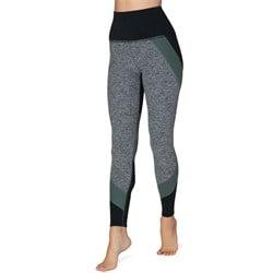 Beyond Yoga Colorblocked High Waisted Long Leggings - Women's
