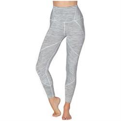 Beyond Yoga True To Stripe High Waisted Midi Leggings - Women's